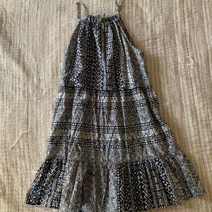 EUC Loft Tribal mini dress M